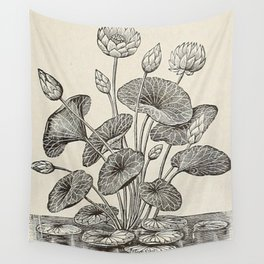Water Lillies Wall Tapestry