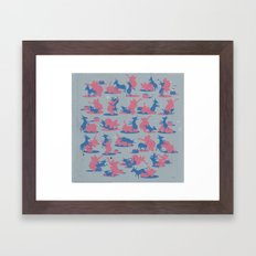Bipartisan Politics Framed Art Print
