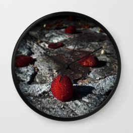 Crushing Darkness Wall Clock