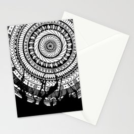 Mandala named Joe Stationery Cards