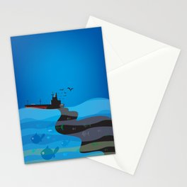 go humans! Stationery Cards