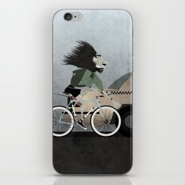 Alleycat Races iPhone Skin