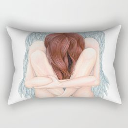 Clipped Wings Rectangular Pillow