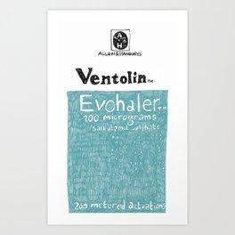 Ventolin Art Print