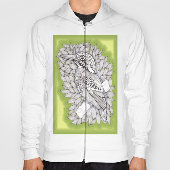 Zentangle Halcyon Hoody