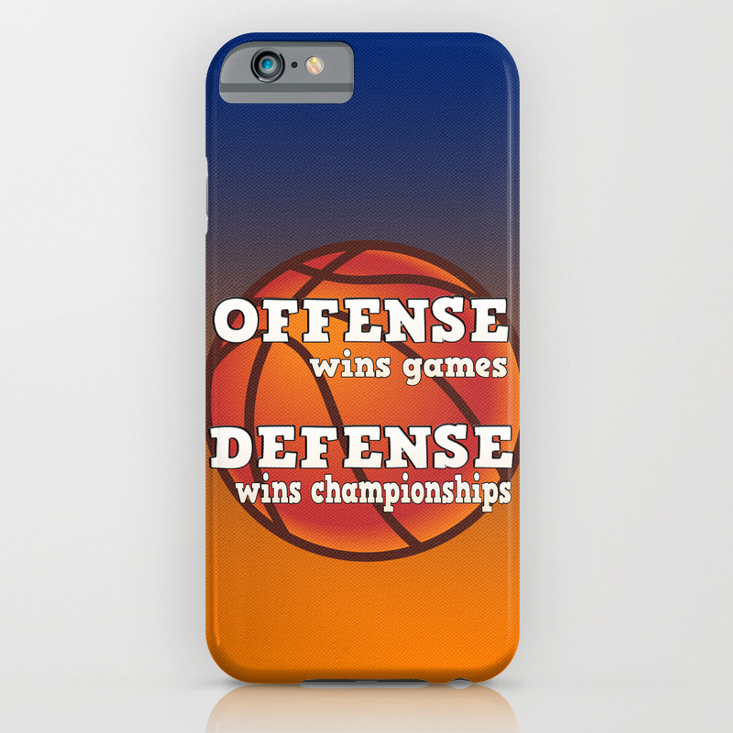 finest selection cc329 eeb58 Winning philosophy for team sports iPhone Case