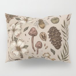 Nature Walks (Light Background) Pillow Sham