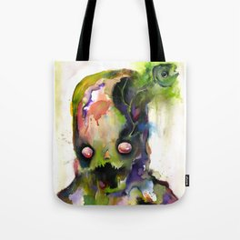 brain fish Tote Bag