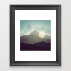 California Hills Framed Art Print