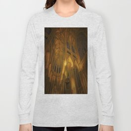 Cathedral Golden Light Long Sleeve T-shirt