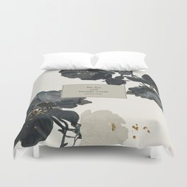 We live and breathe words. Will Herondale. Clockwork Prince. Duvet Cover