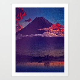 A Sunset for Hara Art Print