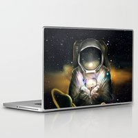 astronaut Laptop & iPad Skins featuring Astronaut by J ō v