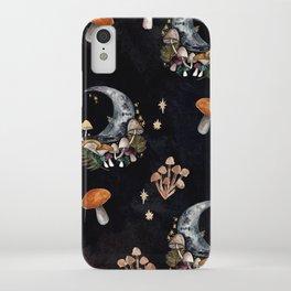Mushroom Moon iPhone Case
