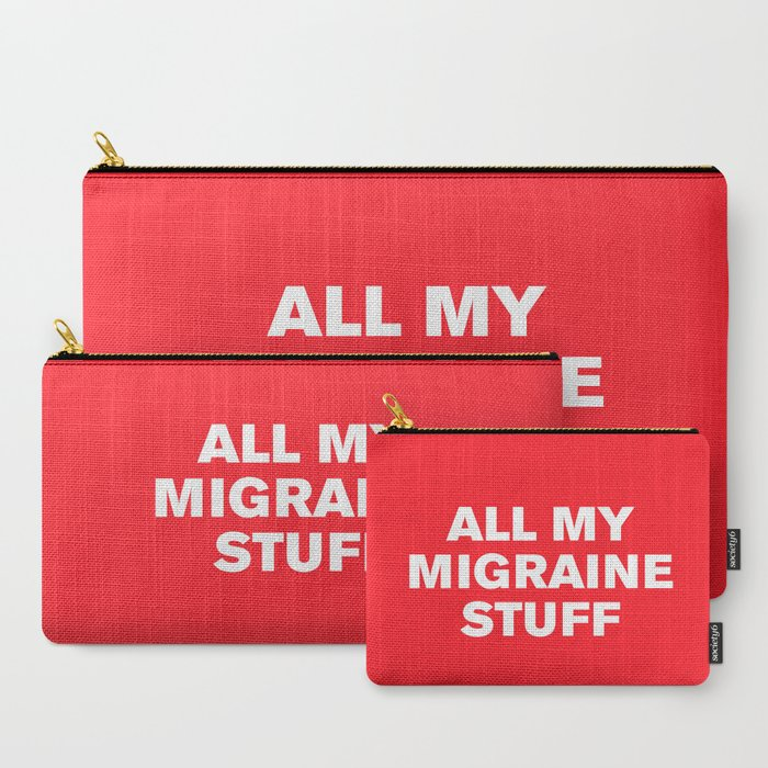 All_My_Migraine_Stufftm_Flame_Scarlet_CarryAll_Pouch_by_Casualty_Girl__Set_of_3