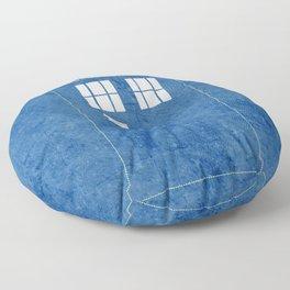 The Blue Box Floor Pillow