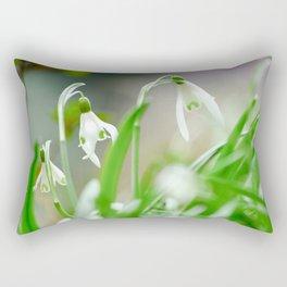 Snowdrops Rectangular Pillow