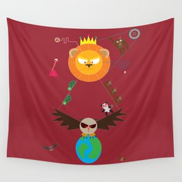 Human extinction Wall Tapestry