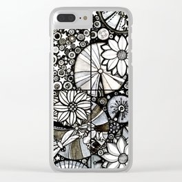 Pond of Stars Clear iPhone Case