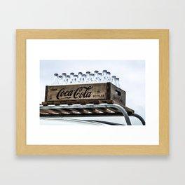 Have a Coke. Framed Art Print