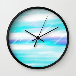 Shiny day, Rainy day Wall Clock