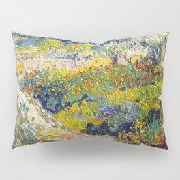 Vincent Van Gogh Flowering Garden Pillow Sham