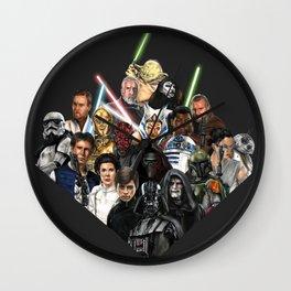 Heroes & Villains Wall Clock