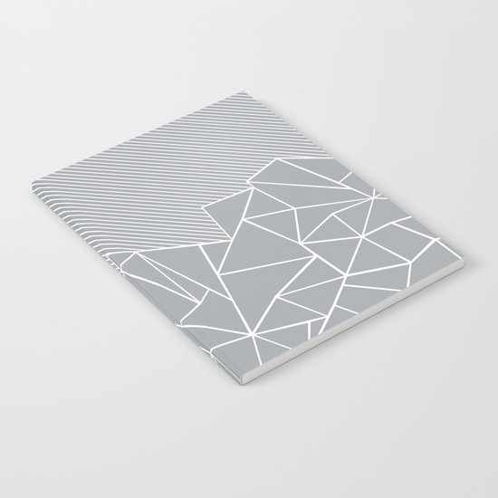 Ab Linear Grey Notebook