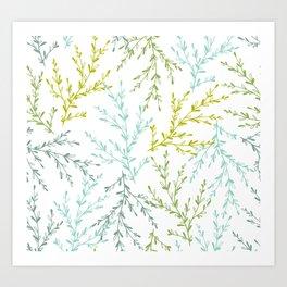 Braches Art Print