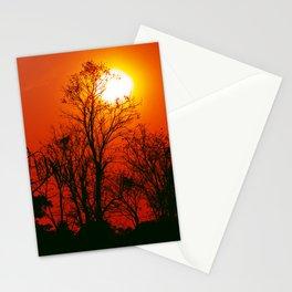 Vibrant Sunset Stationery Cards