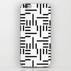 Kemper Black & White iPhone Skin