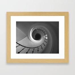Stairshell Framed Art Print