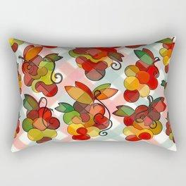 Grapes Abstract Rectangular Pillow