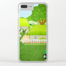 Norway 6 Clear iPhone Case