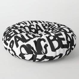 Los Angeles Beach Cities Floor Pillow