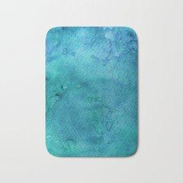 Abstract Watercolour Bath Mat