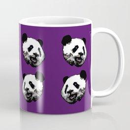 Graphic Panda Print Coffee Mug