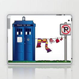 Doctor Who: tardis wardrobe  Laptop & iPad Skin