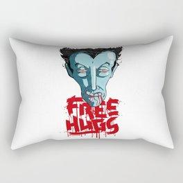 Vampiric Free Hugs Rectangular Pillow