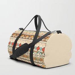Aztec pattern 03 Duffle Bag