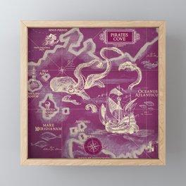 Pirate's Cove Framed Mini Art Print