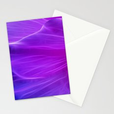Purple Poppy Petal Stationery Cards