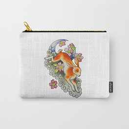 Moon Rabbit Carry-All Pouch