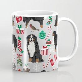 Burnese Mountain Dog christmas holiday festive mitten stockings dog gifts Coffee Mug