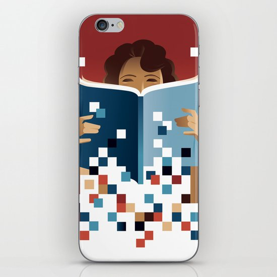 Print to Pixels iPhone & iPod Skin