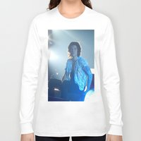 harry styles Long Sleeve T-shirts featuring Harry Styles by Halle