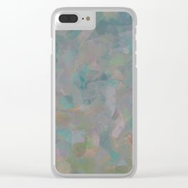 Camouflage XII Clear iPhone Case