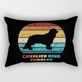 Cavalier King Charles Dad Rectangular Pillow