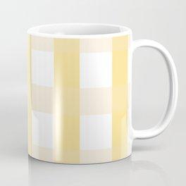 Plaid - Yellow Coffee Mug