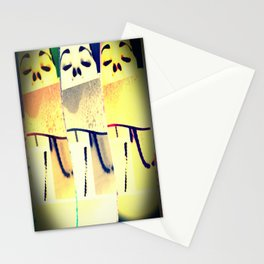 keeping head above water  Stationery Cards